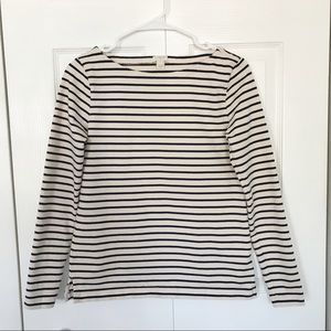 J Crew Boatneck Top - Size XL